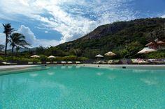 Main Pool at Six Senses Con Dao, Vietnam. www.sixsenses.com