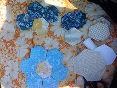 Månestrålens Mamasita patchwork in progress