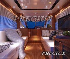Boat interior - 3D Model - Preciux