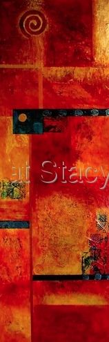 "Daily Painters of Arizona: ""METAMORPHOSIS""Original Contemporary Abstract Mixed Media Art Painting by Contemporary Arizona Artist Pat Stacy"