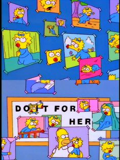 I love this episode, it really show how much Maggie really mean to Homer❤️