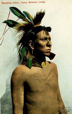 Henry Between Lodge - Blackfoot - 1901
