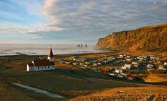 Городок Вик, Исландия