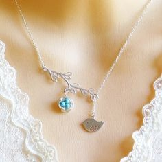 Buy 14K Gold Bird Nest Lariat Necklace by Le Charme Jewelry on OpenSky
