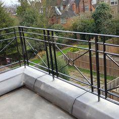Roof Terrace Railings | Titan Forge Ltd