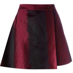 Vivienne Westwood Red Label A-line mini skirt ($710) ❤ liked on Polyvore featuring skirts, mini skirts, black, mini skirt, short mini skirts, vivienne westwood red label, a line skirt and short skirts