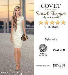 Sunset Shopper @covetfashion #covet #covetfashion #covetfashionapp #fashion #womensfashion #covetwinter2015 #winter2015 #sunsetshopper #vincecamuto #featherM #ashleypittman #nadialee #suzannadai