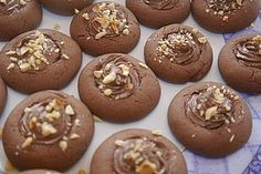 Cookie Recipes Christmas - New ideas Chip Cookie Recipe, Easy Cookie Recipes, Sweet Recipes, Baking Recipes, Cake Recipes, Dessert Recipes, Biscuit Nutella, Nutella Cookies, Nutella Muffin
