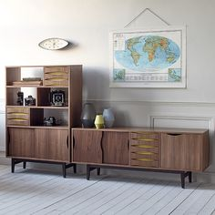 The Arne sideboard by Steijer combines elegant lines with eye catching coloured details resulting in a timeless, classic design referencing The Mid-20th Century Scandinavian style. Complete with 2 sliding doors and one hinged door with adjustable internal shelves. Supplied Fully Assembled.