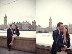 charming london engagements