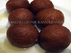 Bangali Ginnir Ranna Banna: Pantua (Bengali Dessert) Indian Desserts, Indian Sweets, Indian Food Recipes, Bangladeshi Food, Gulab Jamun, Good Cheer, Asian, Fruit, Bengal
