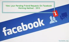 Pending friend requests on Facebook are actually those requests which are not confirmed yet. Now you  can check the pending friend requests on Facebook Timeline. Here is the total guide to check the requests which are not accepted by your friends. Exclusive trick.Visit: http://www.sociobits.org/2013/04/view-your-pending-friend-requests-on-facebook-timeline-may-2013.html