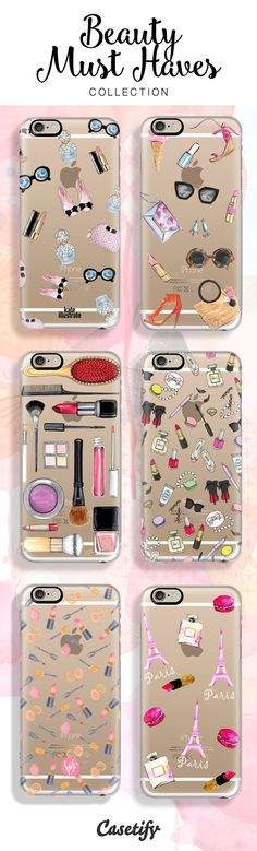 Some of our Beauty Must Haves now available:  Follow @CutePhoneCases to see more amazing elegant girly iPhone 6/ 6S case