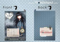 Lucy-Wonderland free printable #gorjuss for #september :) made by @lucywonderland