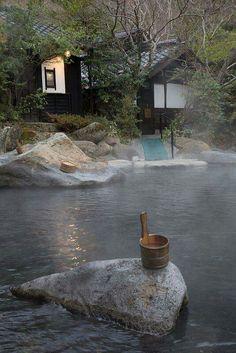 Rotemburo in Kurokawa onsen, Kyushu, Japan Kyushu, The Places Youll Go, Places To See, Kurokawa Onsen, Japanese Hot Springs, All About Japan, Japanese Bath, Japan Travel, Wonders Of The World