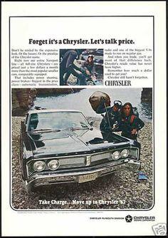 Chrysler Ad, Dive History