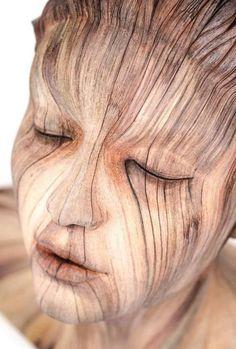 20деревянных скульптур, отреалистичности которых мурашки покоже