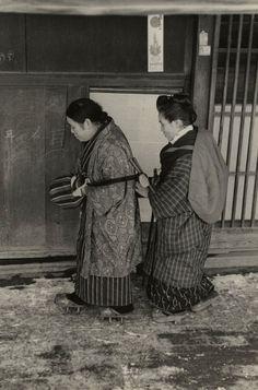 Hiroshi Hamaya (Japanese, 1915 - 1999) 'Blind Musicians, Niigata Prefecture'…