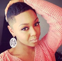 Natural hair. Big chop. Twa. Short hair. Inspiration.