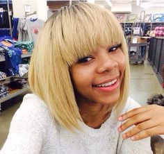 This blonde Chinese Bob is gorgeous!! What you think? .....xoxo