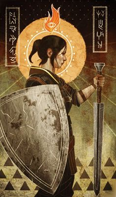 Dragon Age: Inquisition - Shaper Valta in-game tarot card