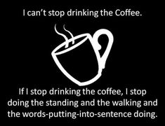 One Coffee Please. This is a Gilmore Girls quote ^_^