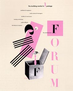 The Architectural Forum by Paul Rand (1914 - 1996)