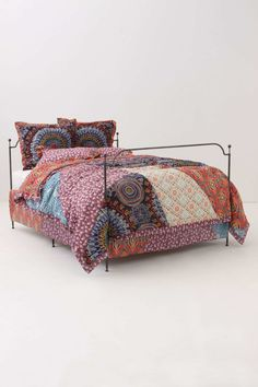 Anya Bedding love the large splashes of pattern