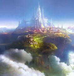 Fantasy Castles by Silentfield
