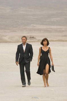 Camille , Quantum of Solace( 2008-Daniel Craig) Bond girl