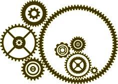 Free Steampunk | Free printable Steampunk Gear Stencil