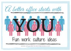 A better office culture starts with YOU | free printables and ideas for employee engagement | know your coworkers |