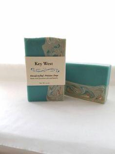 Soap, Handmade Soap, Key West, Aloe Vera, Olive Avocado Oil, Bar Soap, Bath and Beauty, Natural Soap, Gift for Her, Florida Keys, Sandalwood