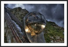 Panoramic Elevator. San Pedro's Mountain, A Coruña, #Spain