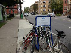 Bike rack #2 Bike Rack, Condo, Bicycle, Bike, Bicycle Kick, Bike Floor Stand, Bicycles, Bicycle Rack