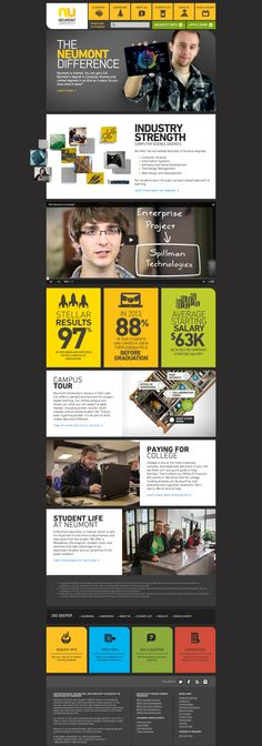 Neumont University Website Design