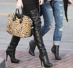 High Heel Boot - Kardashian