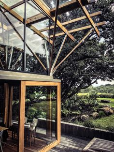External skin, House Under Pohutukawa in New Zealand.