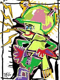 Ron kibble art