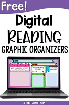 Teaching reading online and need some digital reading resources? This post shares FREE digital graphic organizers for reading. Student Reading, Teaching Reading, Teaching Ideas, Learning, Passage Writing, Reading Passages, Graphic Organizer For Reading, Graphic Organizers, Reading Resources
