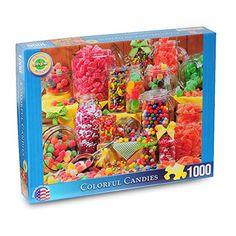 Springbok Colorful Candies Delicious Delights Jigsaw Puzzle (1000-Piece) Springbok
