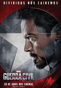 Time Homem de Ferro em Capitão América: Guerra Civil - Cine Planeta