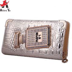 d1eac4266 2016 bolsas femininas de marcas famosas em bolsas de luxo bolsas de  Crocodilo das mulheres saco composto conjunto senhora bolsas LM3234ay em  Bolsas ...