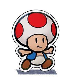 Paper Toad - Mario & Luigi: Paper Jam