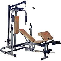 nice High Power Multi Builder multifunción de entrenamiento banco Homemade Gym Equipment, Home Gym Equipment, Dream Home Gym, At Home Gym, Gym Workouts, At Home Workouts, Home Gym Bench, Gym Machines, Power Rack