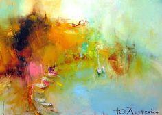bay - Картина,  50x70 cm ©2010 - Yuriy Petrenko -                        Абстрактный экспрессионизм