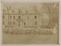 A view of a tuberculosis sanitarium for children at Groslay (Northern France) during World War I.