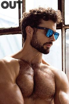 Walter Savage by Greg Vaughan for OUT magazine BdD