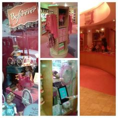 """See 717 photos and 80 tips from 8597 visitors to American Girl Place. """"Be sure to check out the """"Dad's Cafe,"""" their secret, wood paneled bar. American Girl Place, American Girl Store, Four Square, Favorite Things, Nyc, York, Places, New York City, Lugares"""