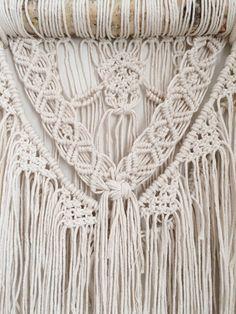 Macrame wall hanging tapestry macrame curtain by NiromaStudio